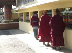 tibetans prayer wheels 2
